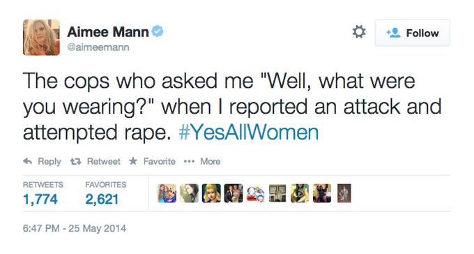 #YesAllWomen Aimme