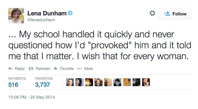 #YesAllWomen Dunham
