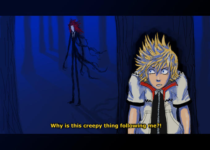 Kingdom Hearts 2: Slender Mix