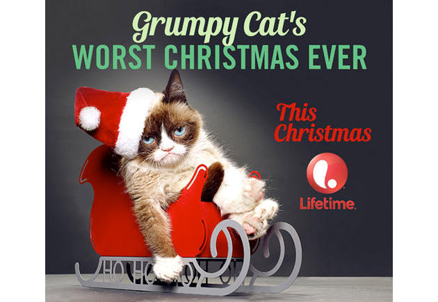 Grumpy Cat's upcoming Christmas special