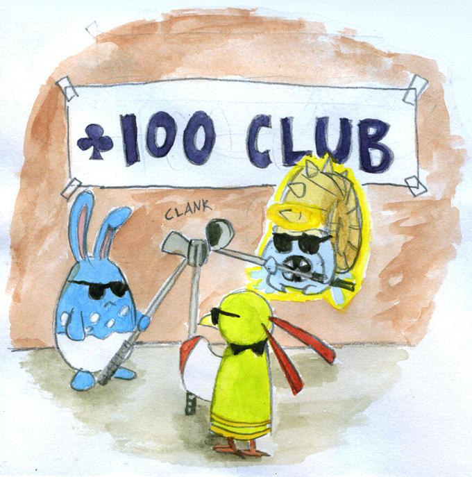 Level 100 club