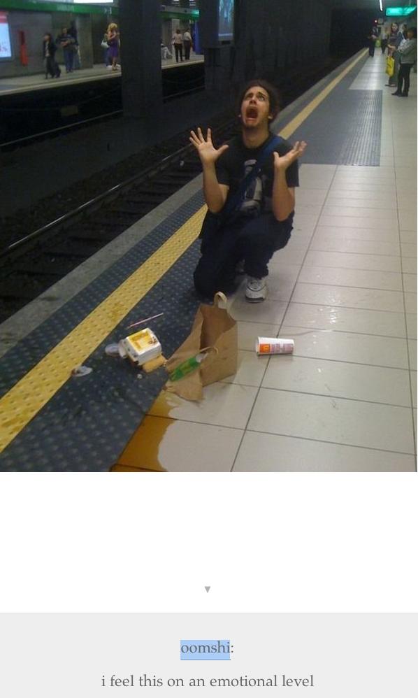 Spilled McDonalds Meal