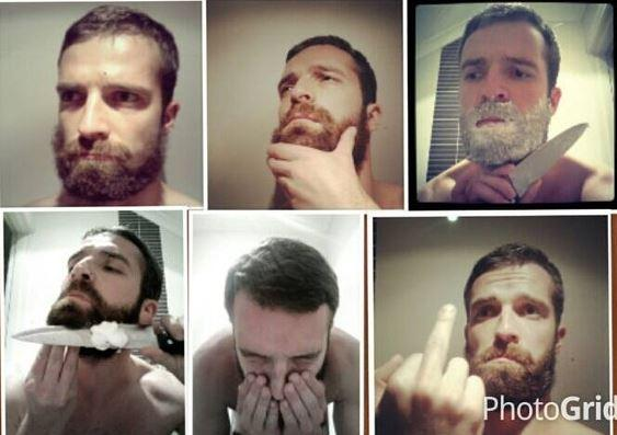 d42 beard shaving comic parodies know your meme,Beard Vs No Beard Meme