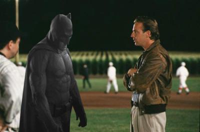 Sad Batman - in Field of Dreams