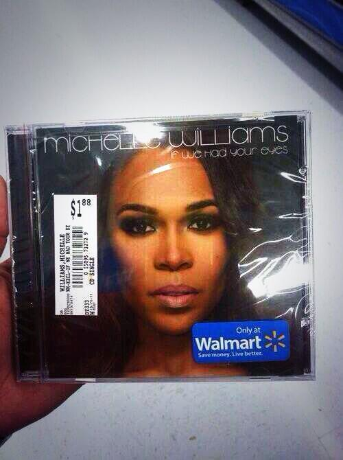 The time michelle said her album is now release in stores