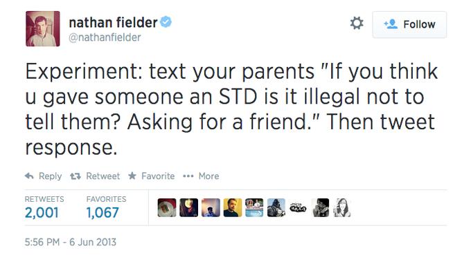 STD prank