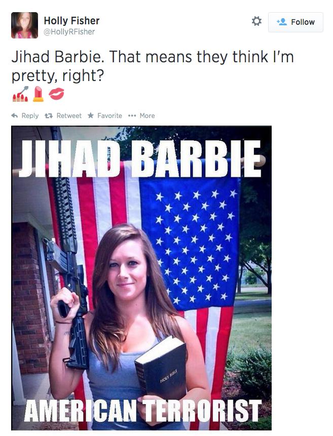 Jihad Barbie hat tip