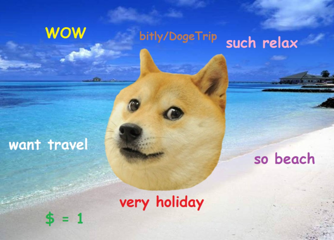Doge Trip - The first doge themed crowdfunding campaign. Such memefunding.