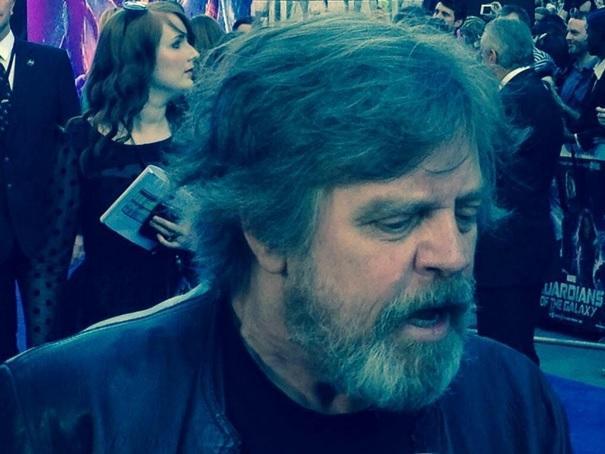 Mark Hamill's Jedi Beard
