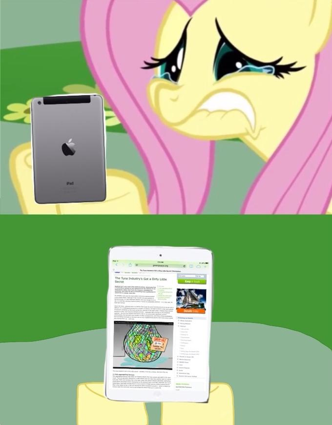 Fluttershy Reacts to The Tuna Industry's Got a Dirty Little Secret on Greenpeace.