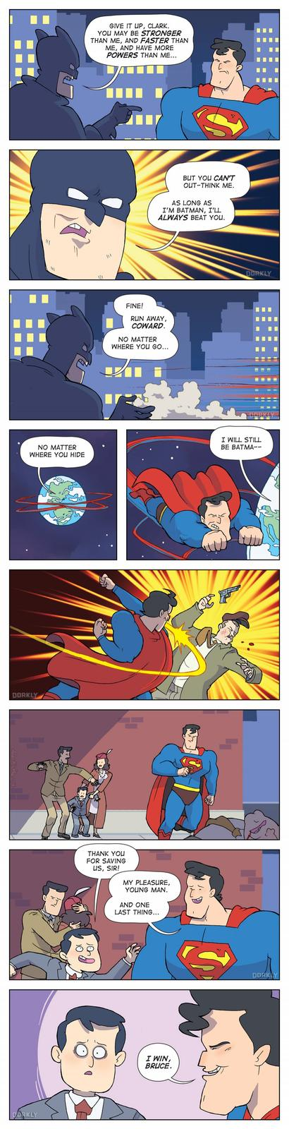 The Simplest Solution to Batman v. Superman