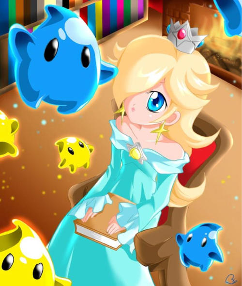 Oh Rosalina-chan! You so kawaii ^_^