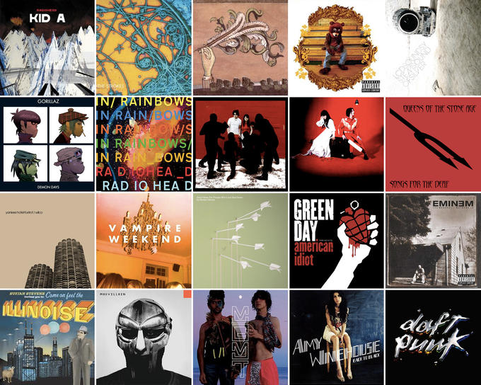 The Best Albums of the 2000s, According to Reddit