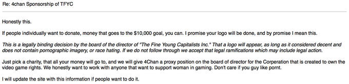 The Fine Young Capitalists greenlights Operation ATTACK CANCER, FUND CHEMO