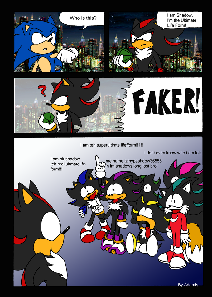 LOL Media of Sonic (with some new rules) [Archive] - Page 45 ...