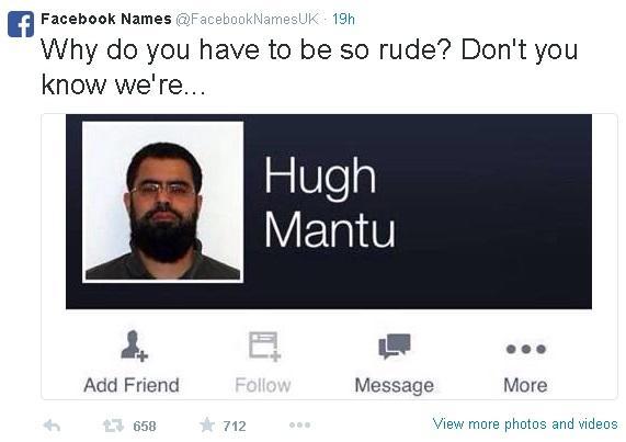 Funny Facebook Names Meme : Image facebook names know your meme
