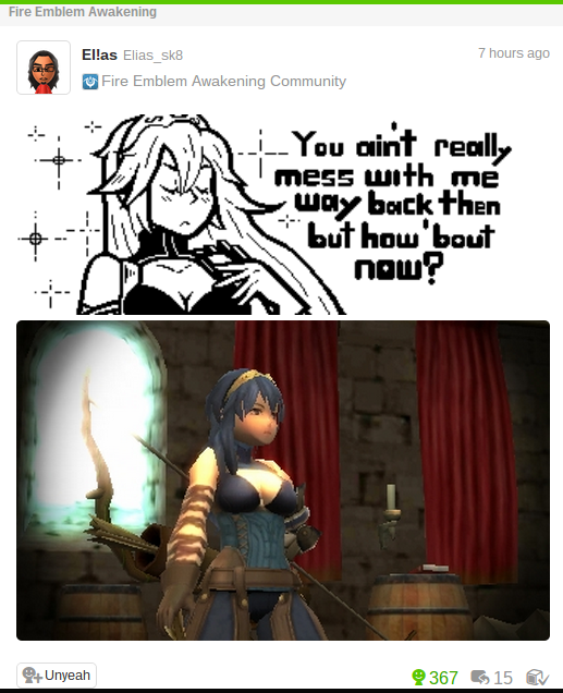 This Feels Unnatural Fire Emblem Know Your Meme