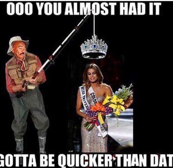 Steve Harvey's Miss Universe 2015 Gaffe   Know Your Meme