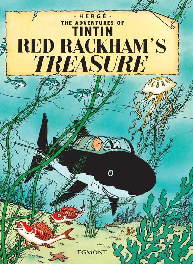 Red Rackham's Treasure cover page