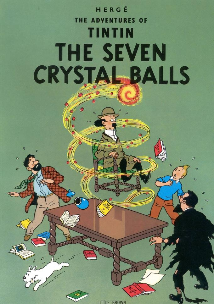 The Seven Crystal Balls cover page