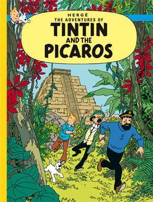 Tintin and the Picaros cover page