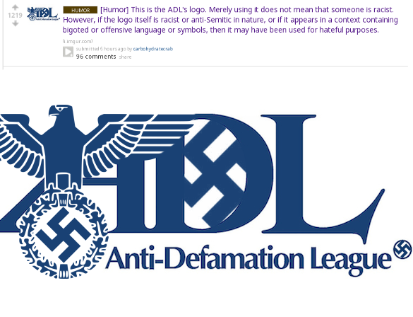 Image result for ADL AS NAZI LOGO