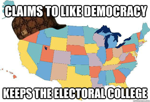 Still For The Next Two Elections Electoral College Map Edits Were Not Incredibly Popular Beyond Some Political Cartoons And Applications To Preexisting