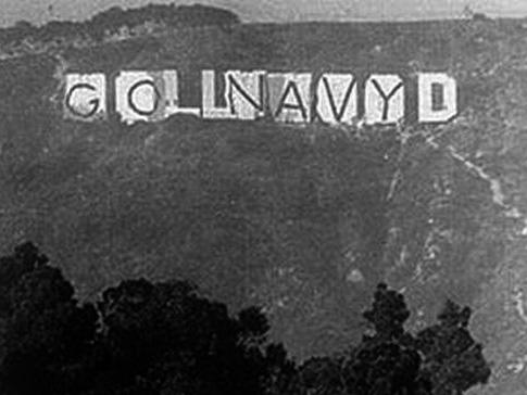 Hollywood Sign Mount Lee Hollyweed Dispensary Black And White Text Sky Monochrome Photography Font Atmosphere