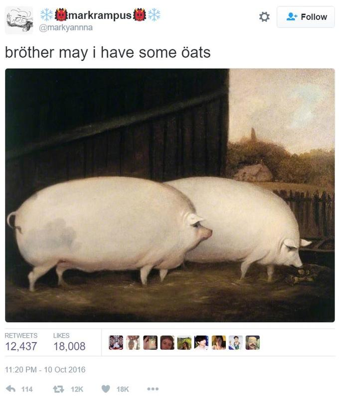 16a brother, may i have some oats know your meme