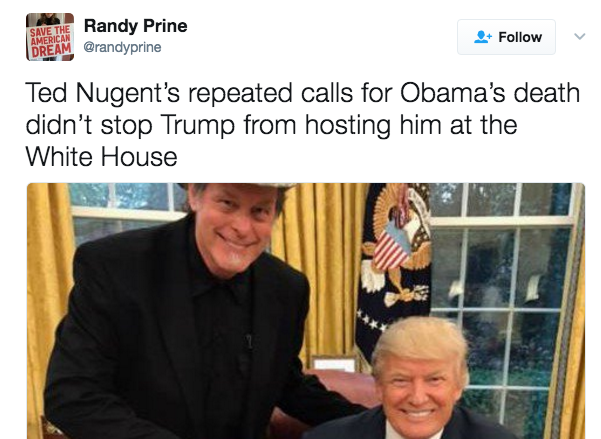 Politicus USA. Ted Nugent ...