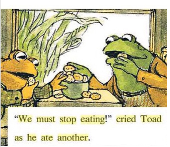 frog and toad cookies pdf