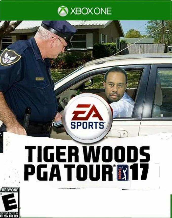 712 tiger woods' mugshot know your meme