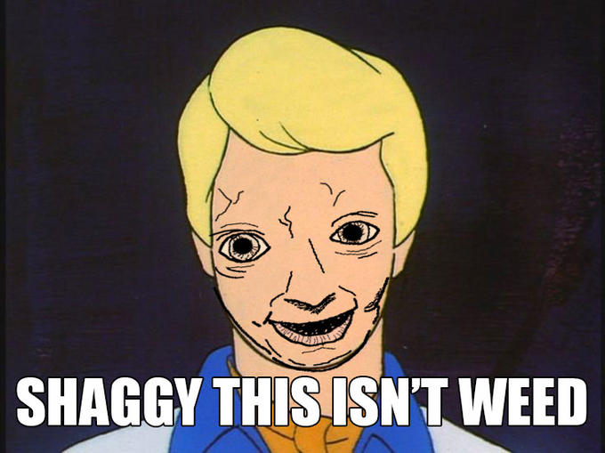 Shaggy this isn't weed | Scooby-Doo | Know Your Meme