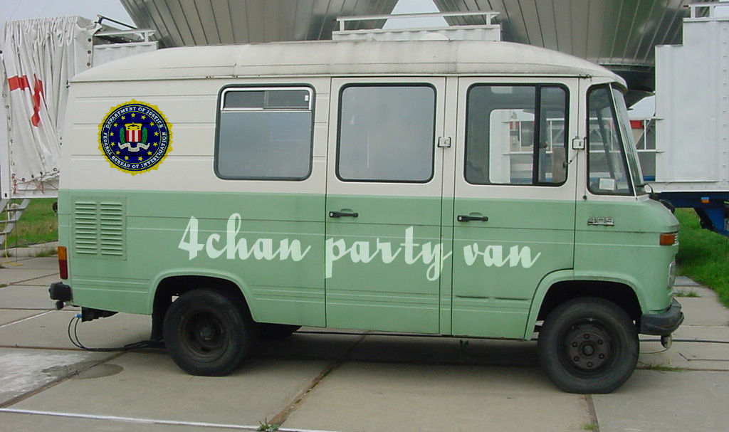 4chan Gallery: 4chan Party Van