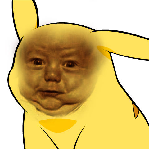 [Image - 50811] | Give Pikachu a Face | Know Your Meme