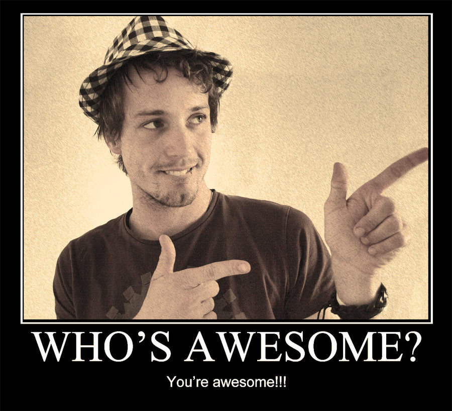 Who's Awesome? You're Awesome! / Sos