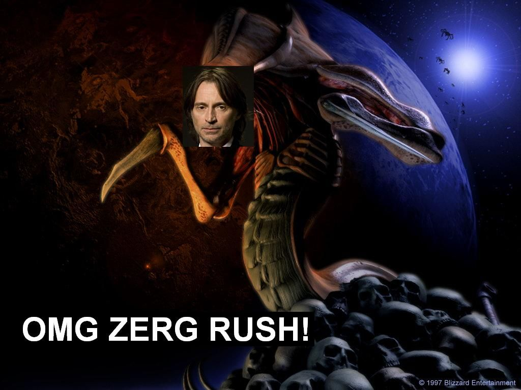 zerg rush how to win