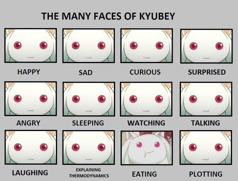 Image result for kyubey meme