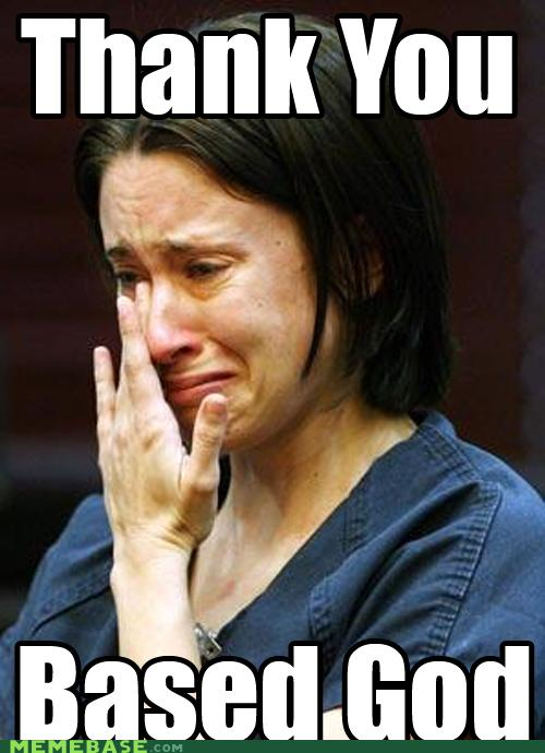 Funny Thank You Lord Meme : Image casey anthony trial know your meme