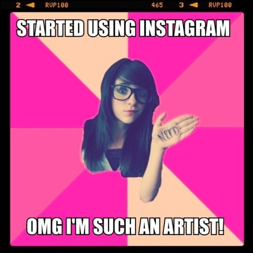 Idiot Nerd Girl - Image #