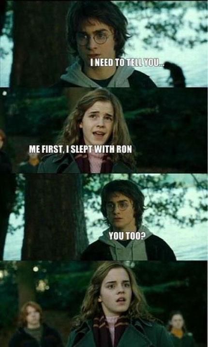 Грязные секреты Гарри Поттера и Гермионы
