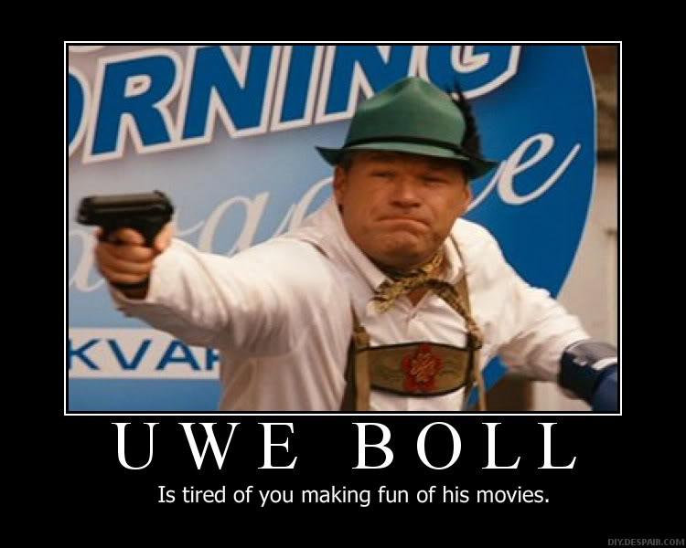 Image result for uwe boll meme