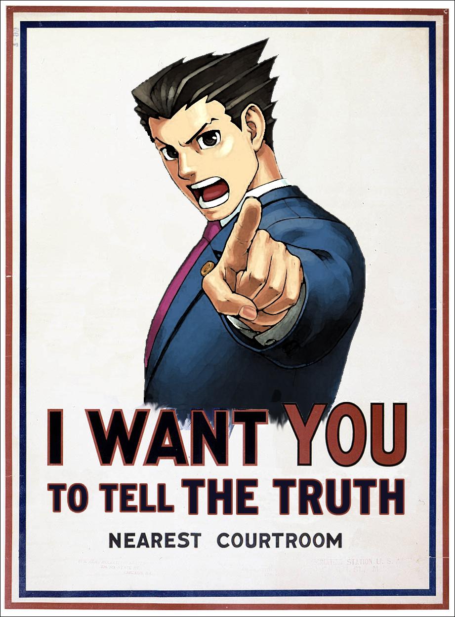 Ace Attorney Meme