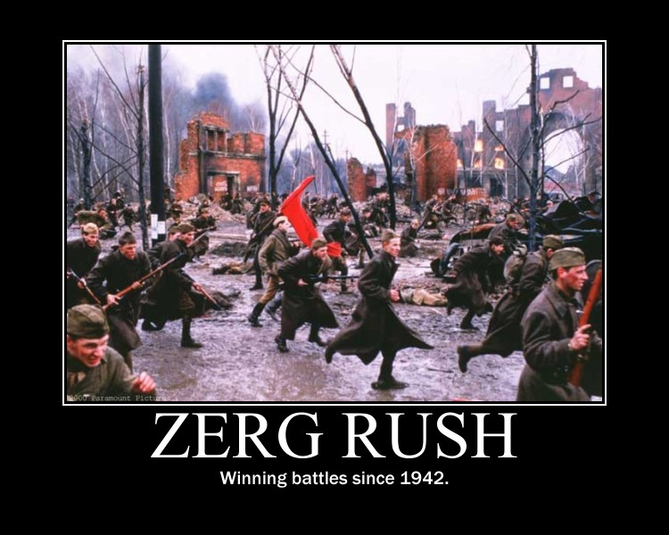 Image 257717 Zerg Rush Know Your Meme