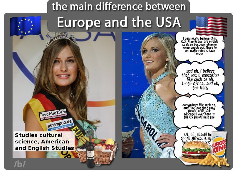 Culture differences between russia and america