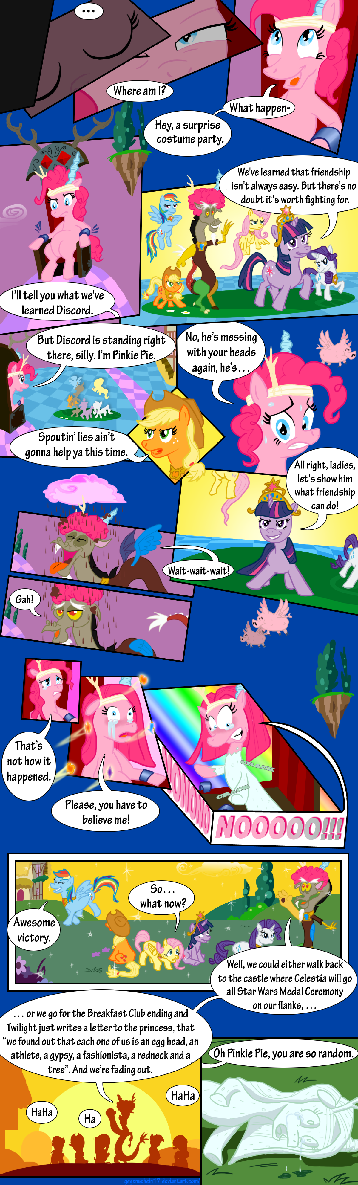 nightmare fuel my little pony friendship is magic non