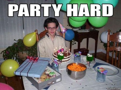 hard gay party
