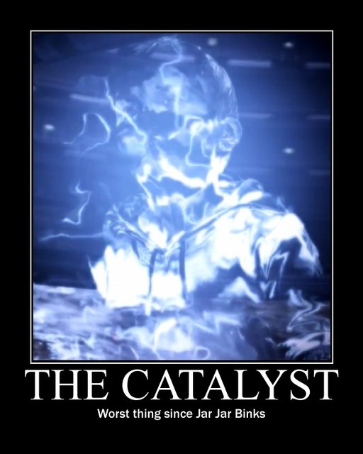 Catalyst Kid Mass Effect 3 Endings Reception Know Your