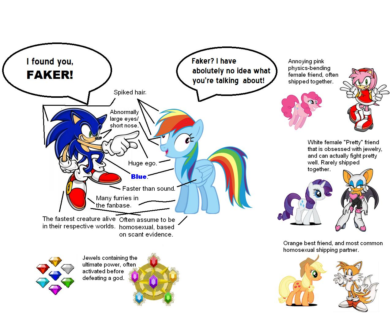 No Wonder People Like Rainbow Dash Original Character