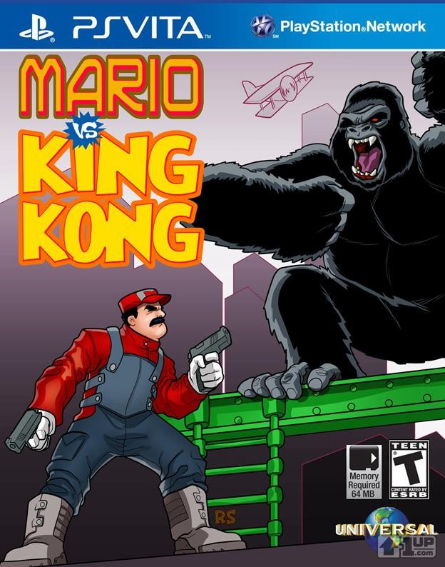 Alternate Universe Mario King Kong